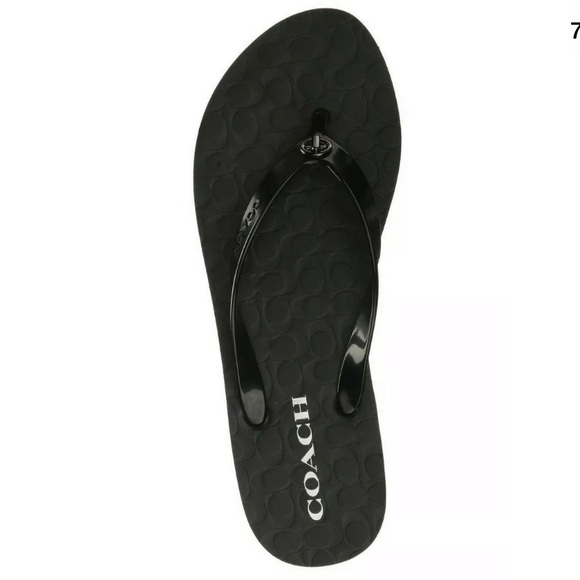 Coach Shoes - Authentic CoachAbbigail Signature FlipFlops sandal